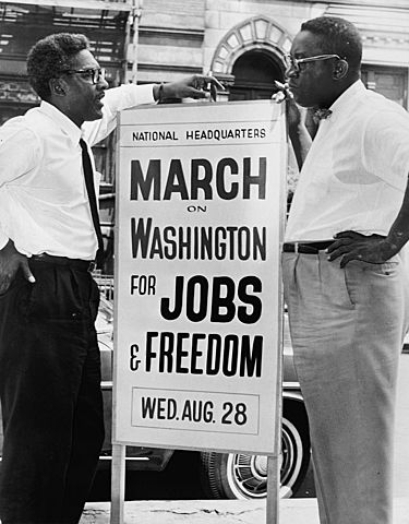 Marxa a Washington pel treball i la llibertay
