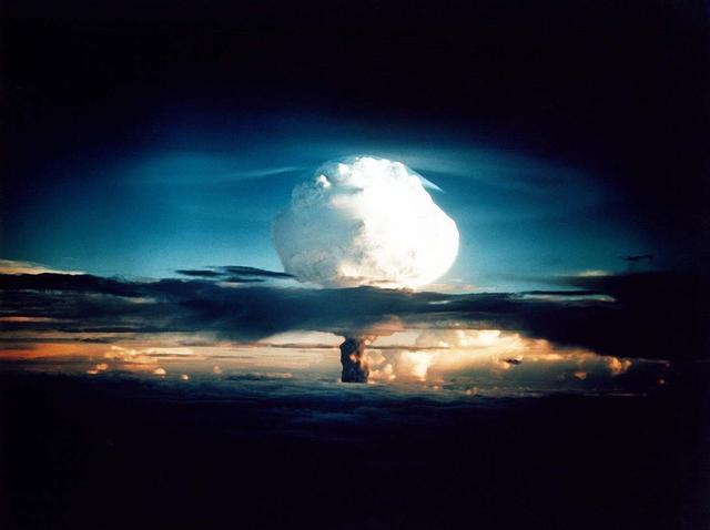 First Hydrogen Bomb Test