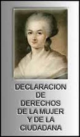DECLARACION DE LOS DERECHOS DE LA MUJER Y DE LA CIUDADANA