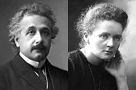 Albert Einstein eta Marie Curie