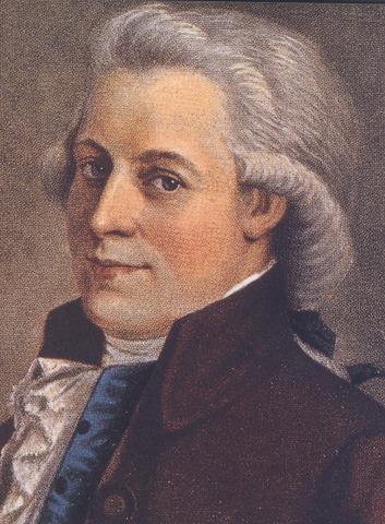 Wolfgang Amadeus Mozart is Born