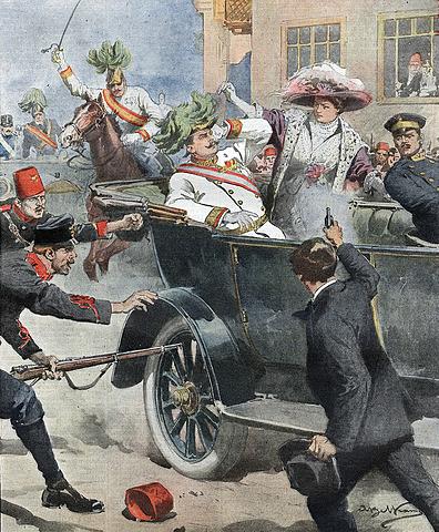 Assassinat de l' arxiduc Frances Ferran