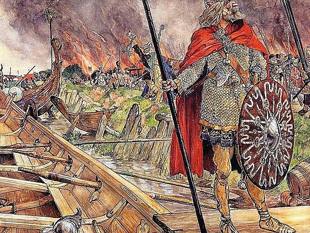 Atac víking al monestir de Lindisfarne