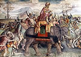 Guerra contra el cartaginesos a Empuries