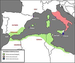 Després de la derrota dels cartaginesos