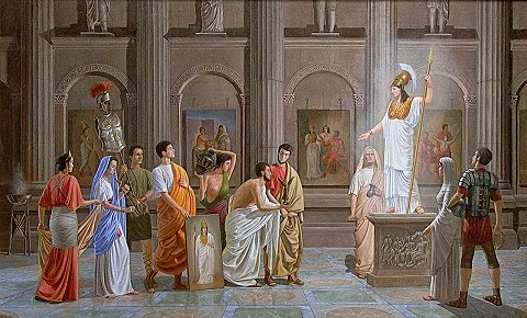 Segona etapa del cristianisme: Religió oficial (380 d.C)