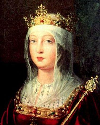 3 -  Proclamación de Isabel como reina.