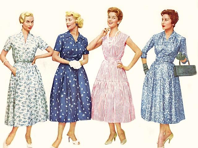Women Fashion of 1950s