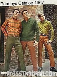 Men Fashion in the 1960s