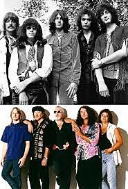 Membres de la banda de Aerosmith
