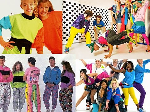 Fashion of the 1980s