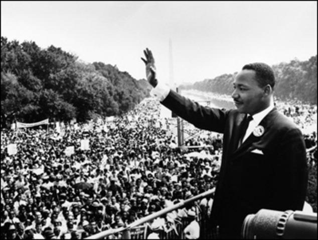 "March on Washington/ ""I Have a Dream"" speech"