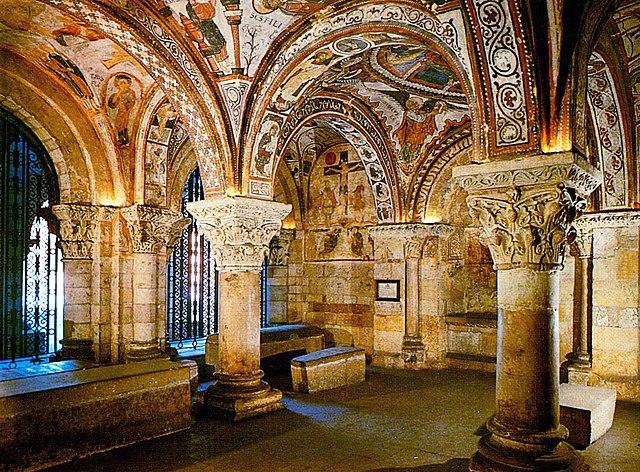 Panteón de los reyes en la basílica de San Isidoro de León