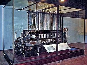 La Máquina Diferencial 1822