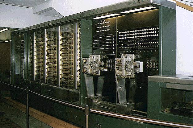 (Howard Aiken) fue la primer computadora electromecánica construida