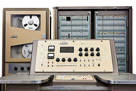 La primera computadora electrónica, el NEAC. 1958