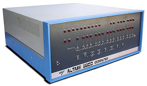 La computadora Altair 8800 1975