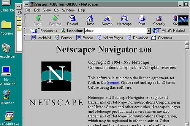 Primer  navegador (browser) con soporte para Javascript. 1997