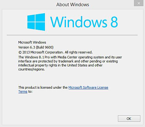 Lanzamiento de Windows 8 2014