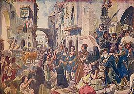 15.Enmitieron el decreto de expulsión de los judíos