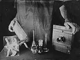 Invention du procédé au collodion humide par Gustave le Gray