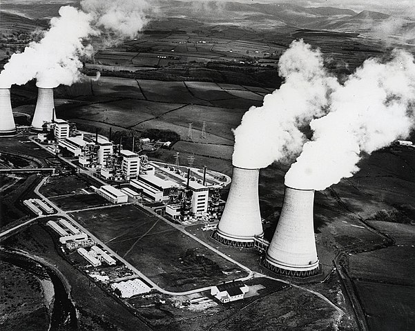 First nuclear power plant in the US.