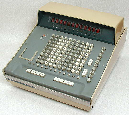 First electronic calculator