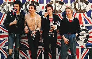 Membres de la banda Sex Pistols