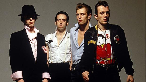 Membres de la banda de The Clash