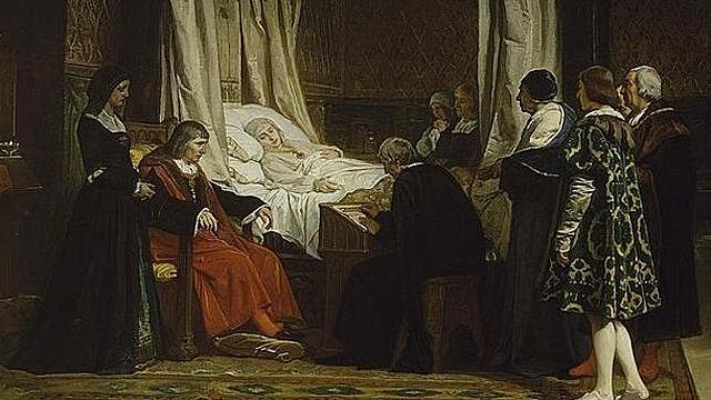 22 -  Fallecimiento de Isabel l.