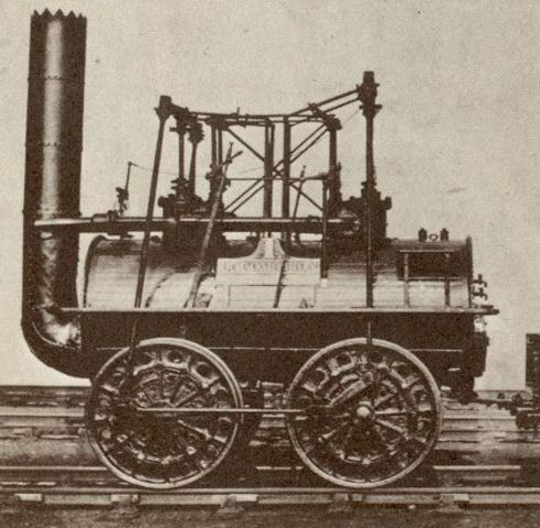 The first train engine