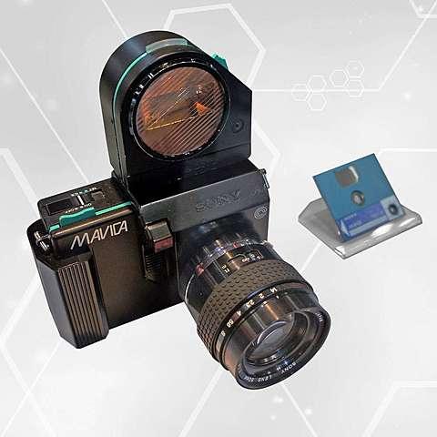 Le premier appareil photographique numérique Le mavica