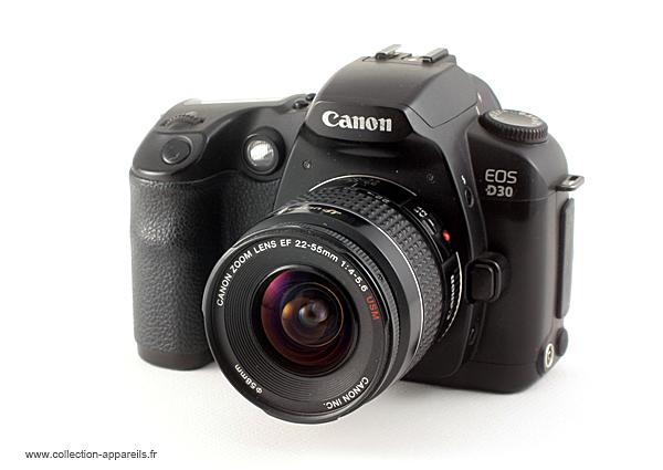 Les premiers reflex grand public : l'EOS D30, de Canon