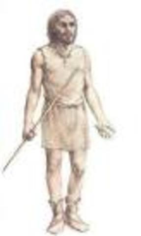 PRIMERA ETAPA:La aparicion del hombre