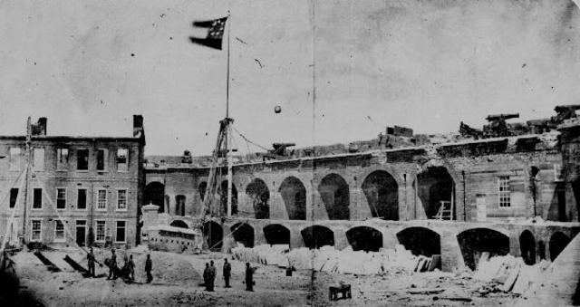 Civil War begins at Ft.Sumter
