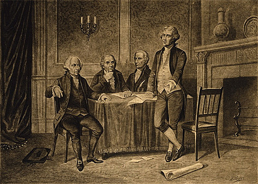 The Continental Congress approves the Articles of Confederation