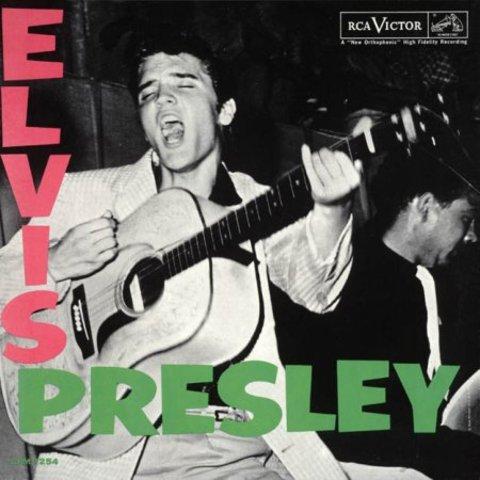 Elvis Presley's Self-Titled Album Debuts