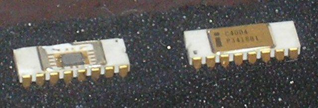 Aparició dels primers microprocessadors---Intel 4004