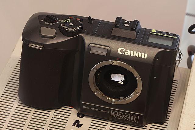 commercialisation du Canon RC-701