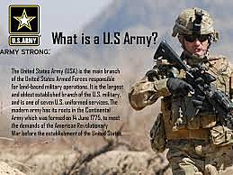 The United States Army is established.