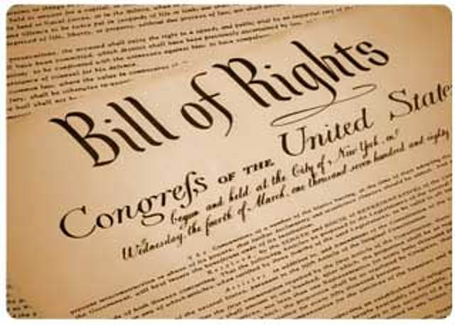 EEUU carta de derechos incorpora las naciones de libertad de exprecion