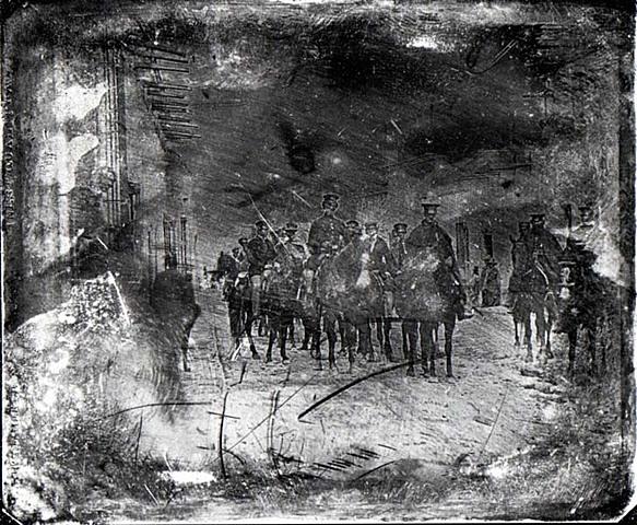First War Photograph Taken - Mexican-American War