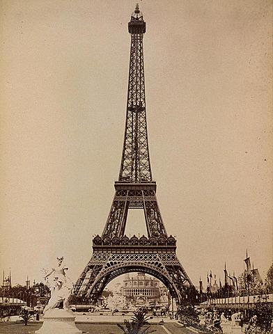 Eiffel Tower Debuts at World's Fair
