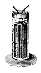 The first battery