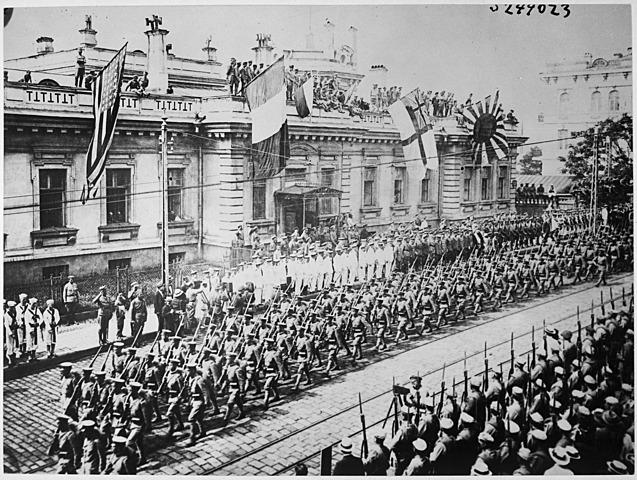 Inici guerra civil Russa