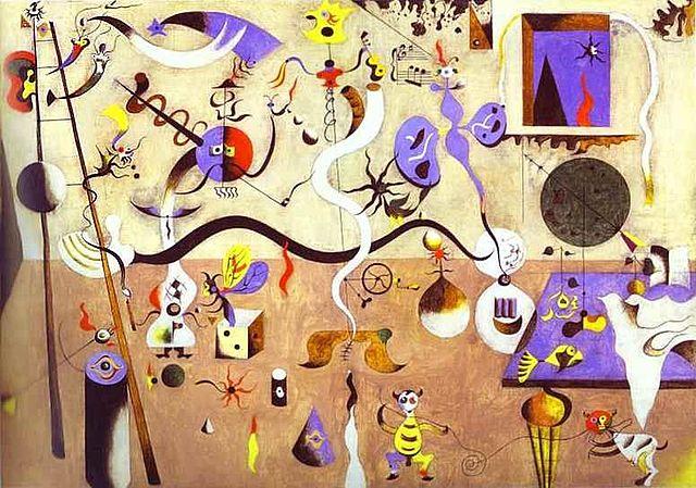 El carnaval de Arlequín | Miró
