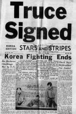 Korean War Stops