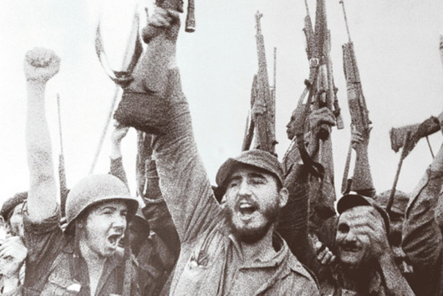 Castro and Communists takes over Cuba (Cuban Revolution)