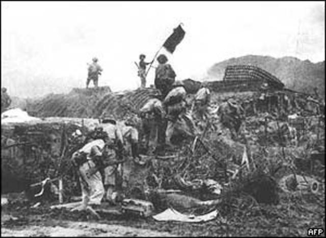 Dien Bien Phu and North Vietnam fall to Communists