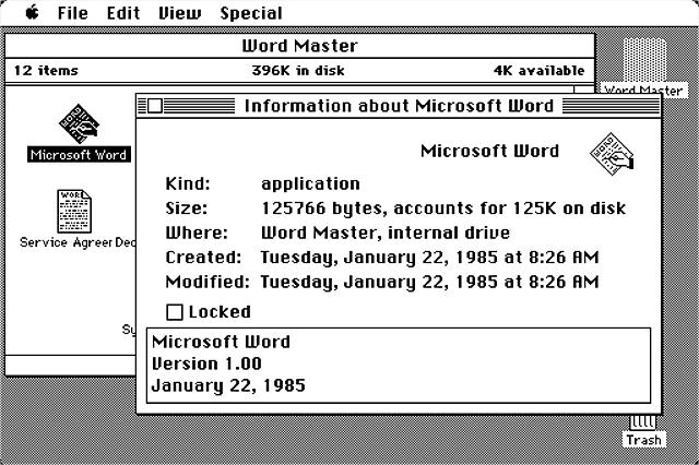Microsoft lanza el primer procesador de textos